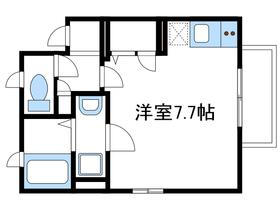 サニープルメリア2階Fの間取り画像