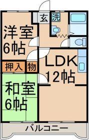 間取り図!2LDKにリノベーション!!