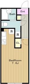 Nasic永山 ナジックナガヤマ2階Fの間取り画像