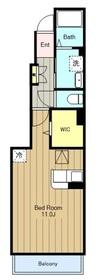 アルコバレーノ21階Fの間取り画像