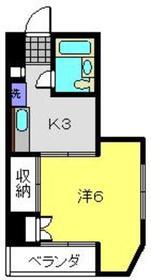 ダンディライオンビル南太田4階Fの間取り画像