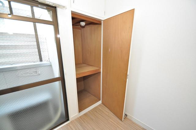 Blue Star G1(ブルースター) もちろん収納スペースも確保。いたれりつくせりのお部屋です。