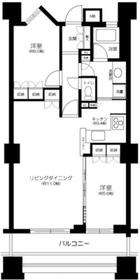 大塚駅 徒歩15分19階Fの間取り画像
