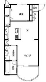 ポム・ドゥ・パン3階Fの間取り画像
