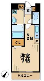 南町田グランベリーP駅 徒歩15分1階Fの間取り画像