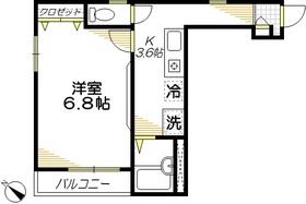 カーサ・クローカス2階Fの間取り画像