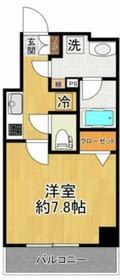 スパシエベルタ横浜4階Fの間取り画像