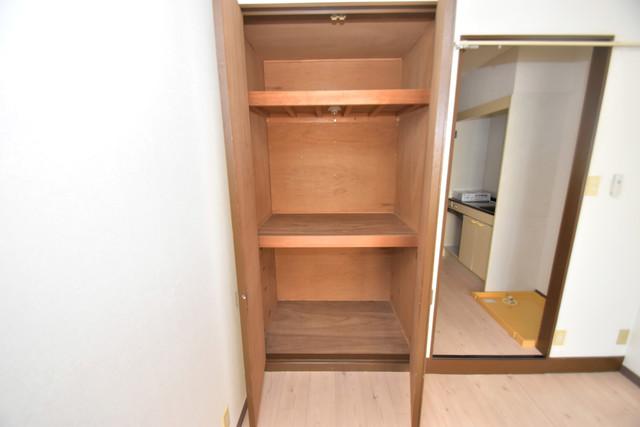 レスポワール もちろん収納スペースも確保。おかげでお部屋の中がスッキリ。