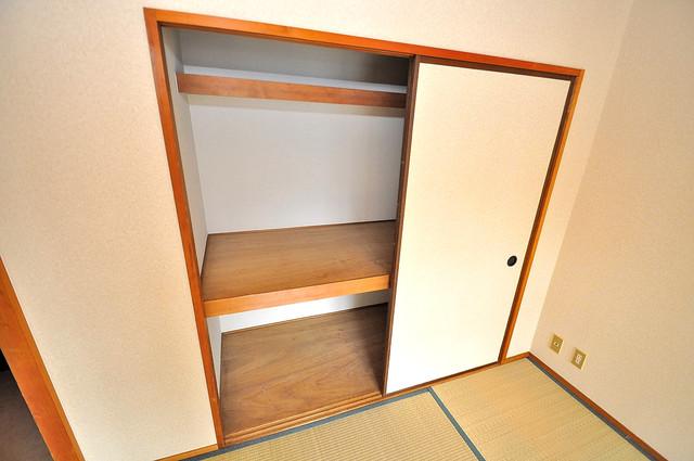 シャトーパシフィック もちろん収納スペースも確保。お部屋がスッキリ片付きますね。
