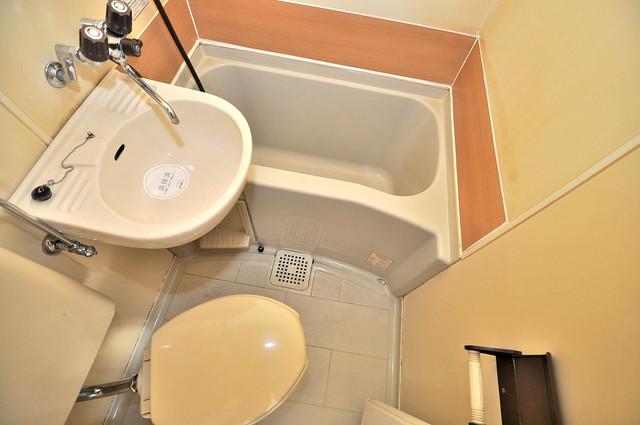 大宝菱屋西CTスクエア 単身さんにちょうどいいサイズのバスルーム。