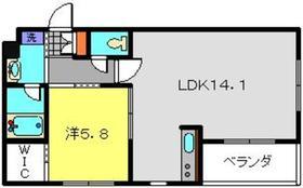 日吉本町駅 徒歩1分3階Fの間取り画像