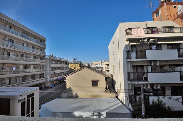 スペラーレ今里 バルコニーは眺めが良く、風通しも良い。癒される空間ですね。