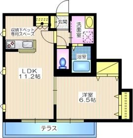 maison CHERIR1階Fの間取り画像