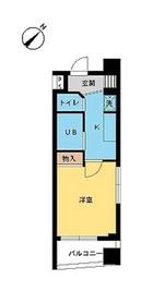 スカイコート原宿3階Fの間取り画像