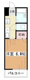 ハイマートEM2階Fの間取り画像