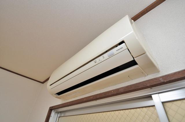 小路東ハイツⅡ うれしいエアコン標準装備。快適な生活が送れそうです。