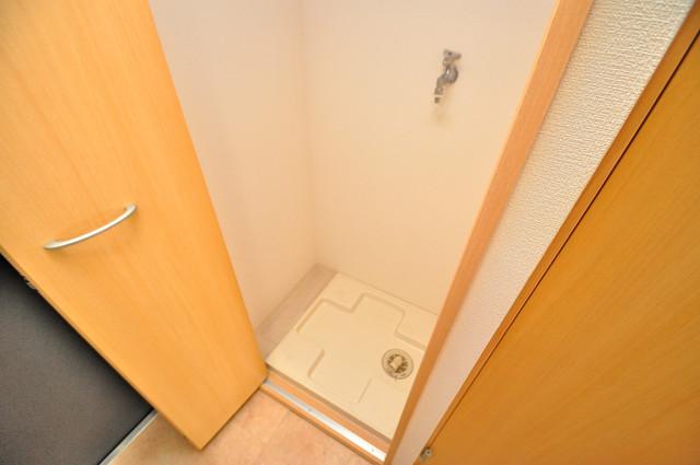 CITY SPIRE布施(ラグゼ布施) 室内に洗濯機があれば、雨の日も安心ですね。