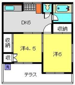 羽沢横浜国大駅 徒歩18分1階Fの間取り画像