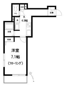 メゾン リヴィエール2階Fの間取り画像