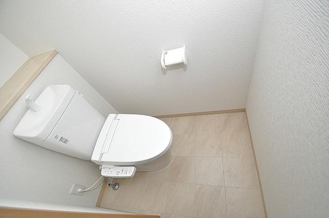 K.Bld 清潔感たっぷりのトイレです。入るとホッとする、そんな空間。