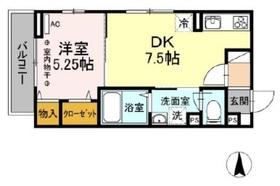 D-room宮町3階Fの間取り画像