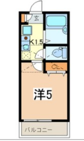 エーデル横濱山手1階Fの間取り画像
