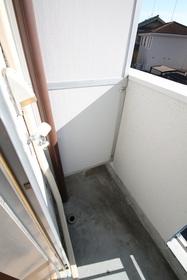 室外洗濯機置き場!