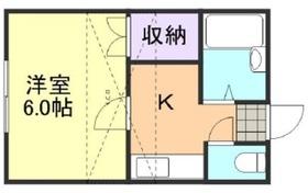 ソングコート倉敷2階Fの間取り画像
