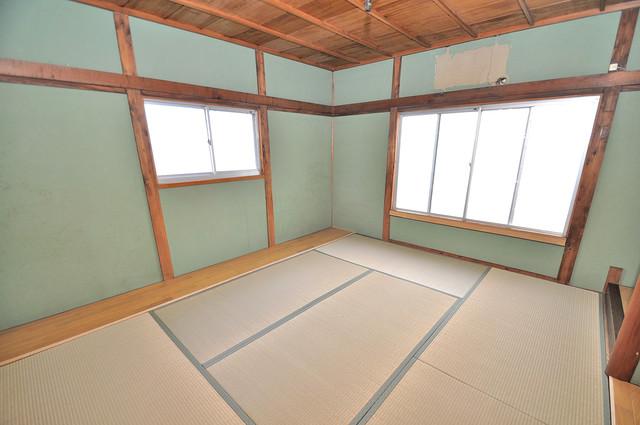 横沼町3丁目貸家 太陽の温もりと、畳のいい香りが、あなたを包んでくれますよ。
