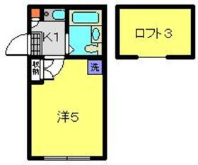 東戸塚駅 徒歩15分1階Fの間取り画像