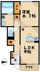 海老名駅 徒歩20分1階Fの間取り画像