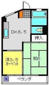 保土ヶ谷駅 徒歩2分4階Fの間取り画像
