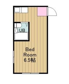 ハイツオーギ2階Fの間取り画像