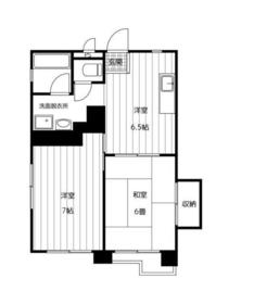 リバーサイド2階Fの間取り画像