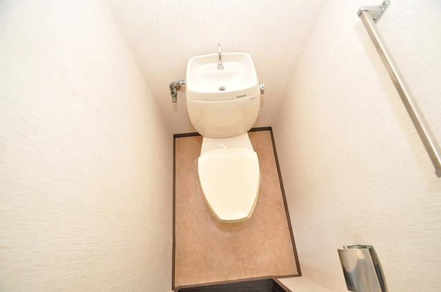 ミツワハイツⅠ スタンダードなトイレは清潔感があって、リラックス出来ます。