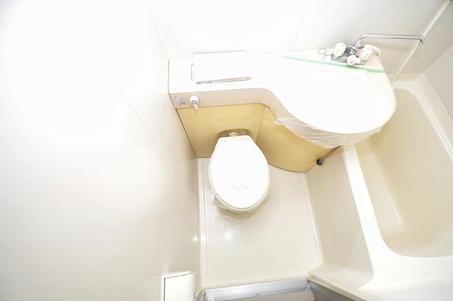 デ・リード高井田駅前 シャワー1本で水回りが簡単に掃除できますね。