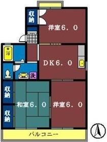FS535-12階Fの間取り画像