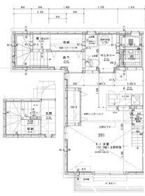 二子玉川駅 徒歩27分2階Fの間取り画像