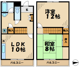 メゾンセレナイト4階Fの間取り画像