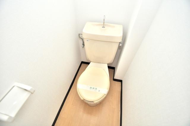 スターハイツ 白くてピカピカのトイレですね。癒しの空間になりそう。