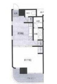 カーザペルラ7階Fの間取り画像