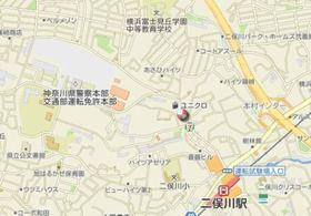 二俣川ハイツ案内図