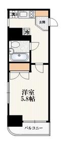 クリオ千駄木壱番館1階Fの間取り画像