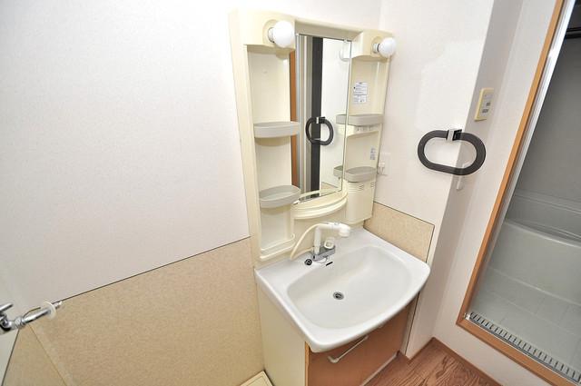 メゾンドゥエスポワール 忙しい朝にあなたを手助けしてくれる素敵な洗面台。