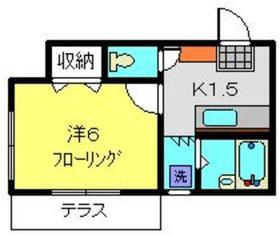 新羽駅 徒歩13分1階Fの間取り画像