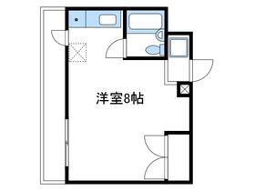コスモヒロ南台5階Fの間取り画像