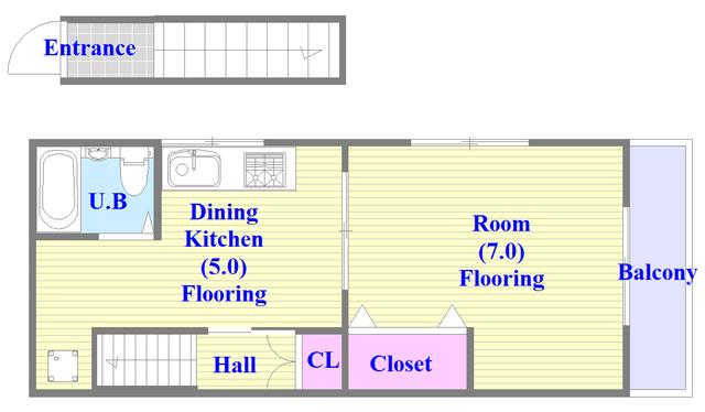 MAプレイス シンプルな住み心地を実感できる素敵な間取りになってます。