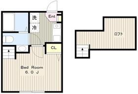 N-Flat1階Fの間取り画像