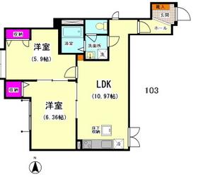 プレシャスウエスト�T 103号室