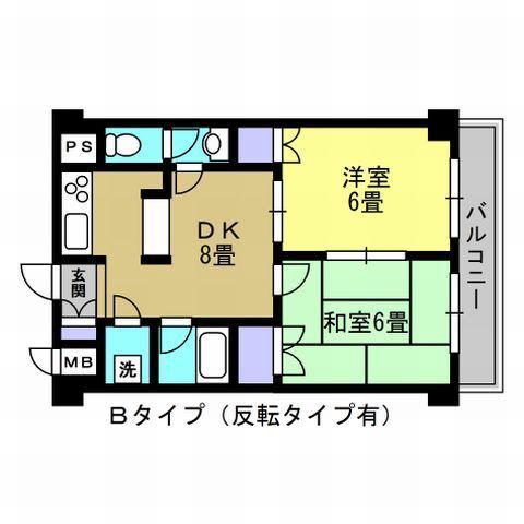 DK8帖・洋室6帖・和室6帖